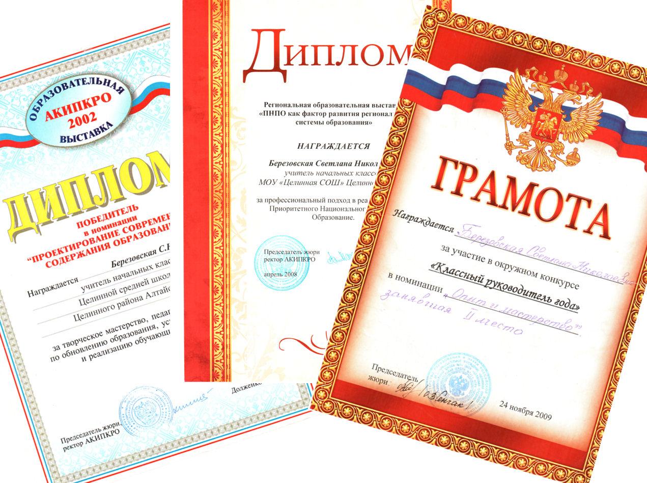Список победителей конкурса лучших учителей в алтайском крае